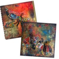 Boho Art Journaling - Class Preview - Gwen Lafleur