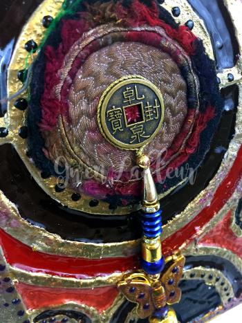 Dimensional Mixed Media Panel - Closeup 5 - Gwen Lafleur