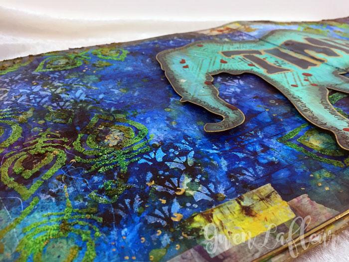 StencilGirl-Brusho-Art-Journal-Page-Closeup-4--Gwen-Lafleur