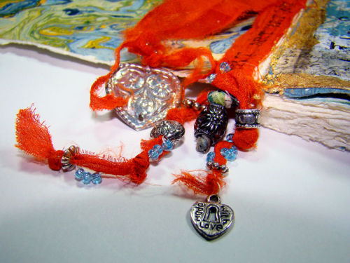 Art-Journaling-with-Turkmen-Jewelry-and-Sari-Ribbon---Sandee-Setliff