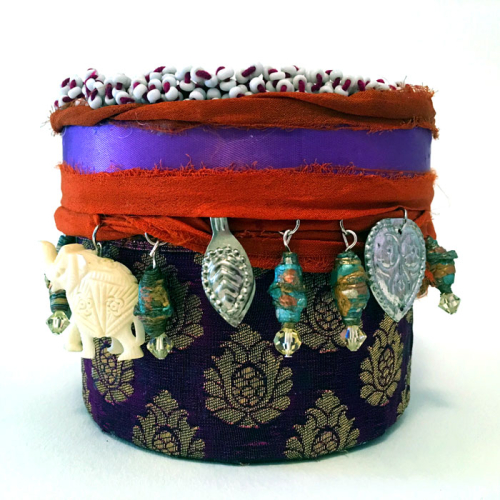 Decorative-Box-with-Beaded-Kuchi-Medallion-Lid-Side-View--Linda-Edkins-Wyatt