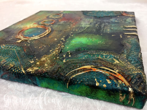 Abstract-Mixed-Media-Collage---Side-View---Gwen-Lafleur