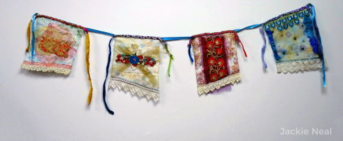 Mixed-Media-Gypsy-Prayer-Flags-by-Jackie-Neal