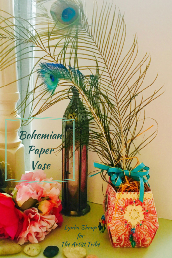 Boho-Handmade-Paper-Vase---Lynda-Shoup
