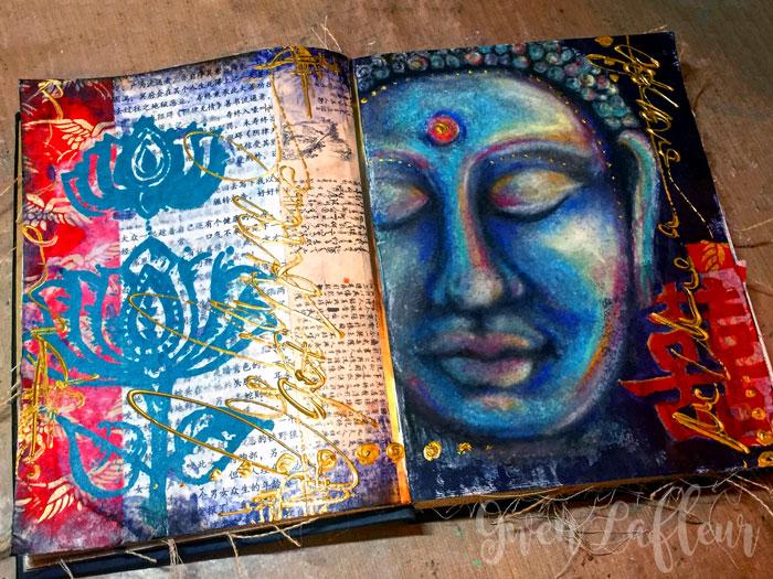 Balance-Art-Journal-Spread---Gwen-Lafleur
