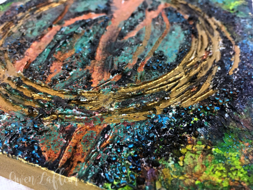 Mixed-Media-Abstract-with-Embossing-Powder-3-Closeup2---Gwen-Lafleur
