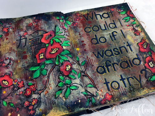 Art-Journaling---Not-Afraid-to-Try-closeup-3---Gwen-Lafleur