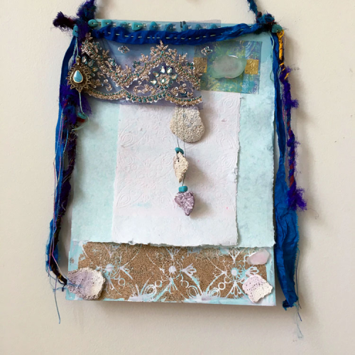 Worth-Saving-Mixed-Media-Wall-Hanging---Lynda-Shoup