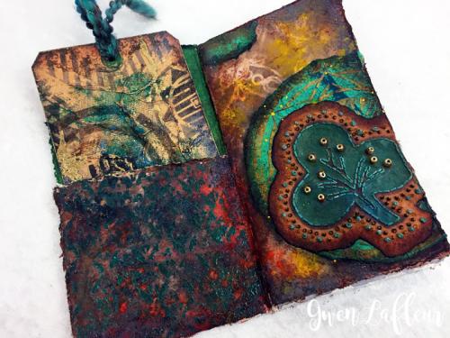 Stenciled-and-Sprayed-Mini-Art-Journal-Inside-2---Gwen-Lafleur
