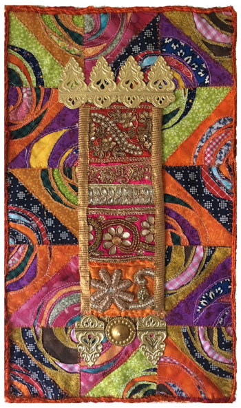 Medieval-Mixed-Media-Quilt---Linda-Edkins-Wyatt