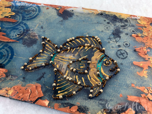 Beaded-Boho-Fish---Art-Journal---Gwen-Lafleur