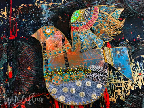 Collaged-Boho-Bird---Gwen-Lafleur