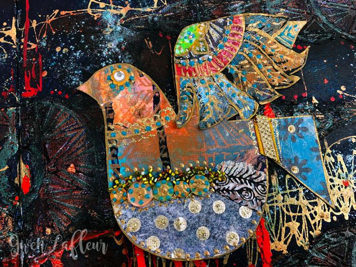 Collaged-Boho-Bird---Gwen-Lafleur