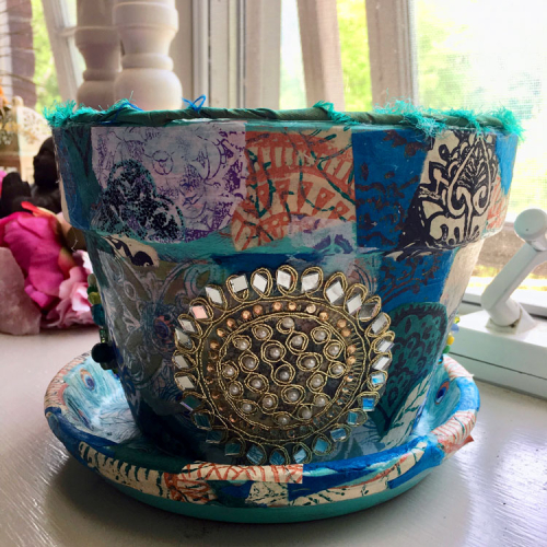 Mixed-Media-Boho-Flower-Pot---Lynda-Shoup