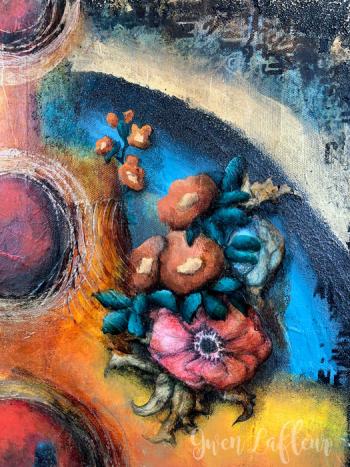 Phoenix-Mixed-Media-Artwork-Closeup-2---Gwen-Lafleur