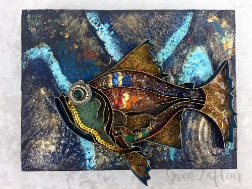 3D-Boho-Collage---Gus---Boho-Fish-Stencil---Gwen-Lafleur