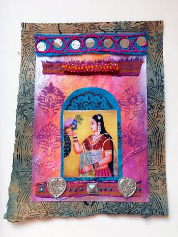 Longing---Art Journal Page - Lynda-Shoup