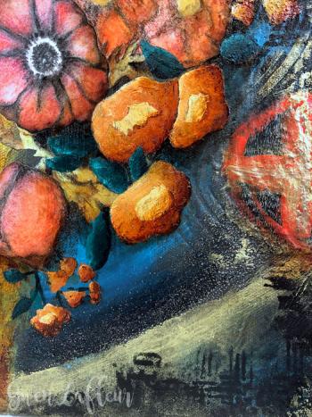 Phoenix-Mixed-Media-Artwork-Closeup-4---Gwen-Lafleur
