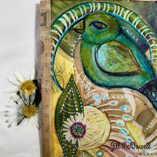 Translucent Art Journal 1 - Jill McDowell