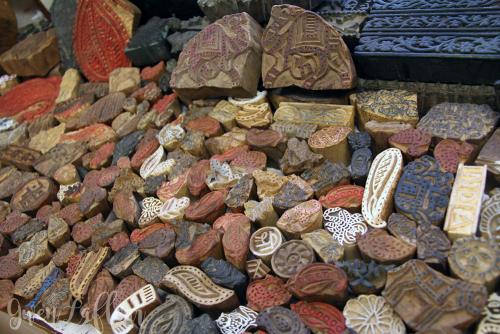 Woodblocks-from-Street-Vendors---Jaipur---Gwen-Lafleur