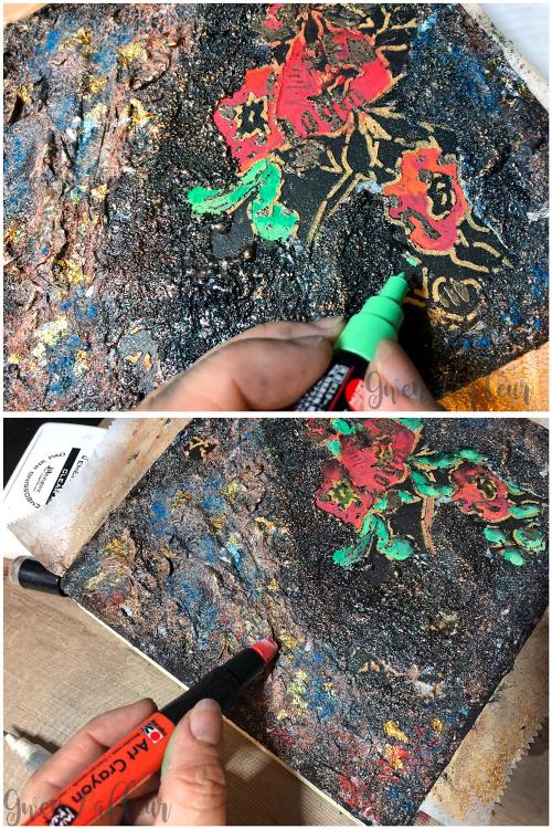 Textured-Embossed-Artist-Book-Cover---Step-7-8---Gwen-Lafleur