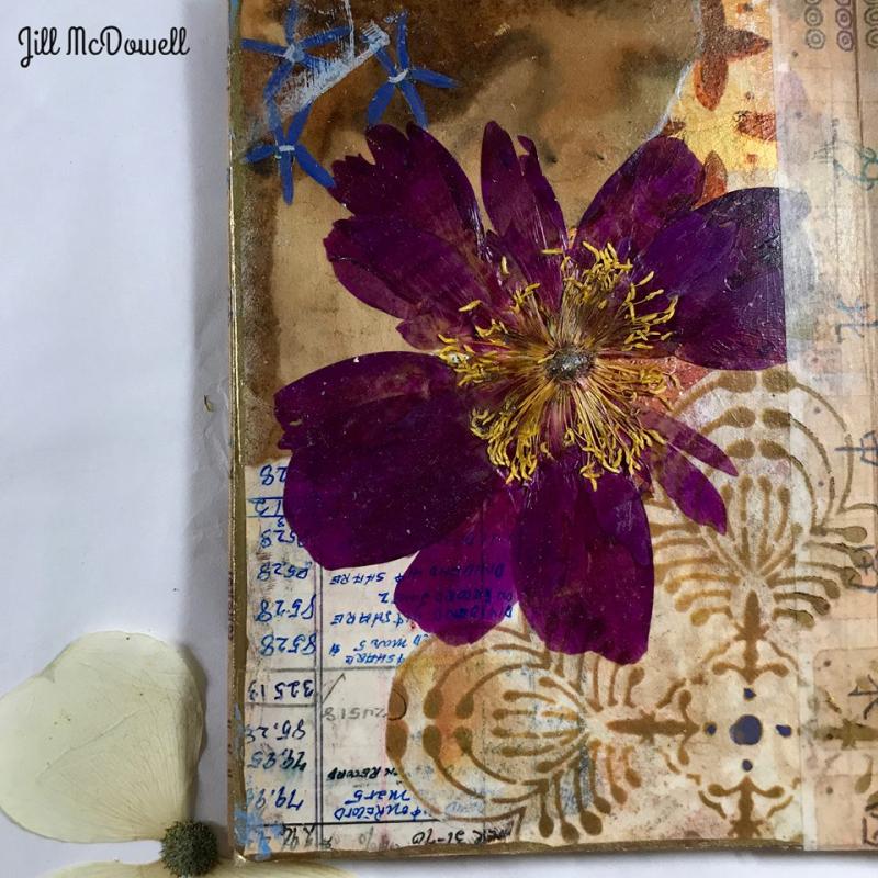 Translucent Art Journal 2 - Jill McDowell