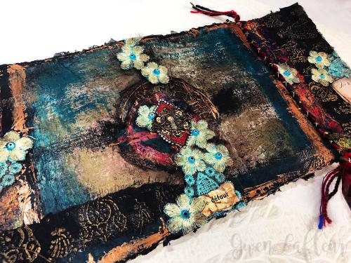 July-2018-StencilClub---Art-Journaling-Angled-View---Gwen-Lafleur