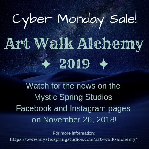 Art Walk Alchemy Cyber Monday