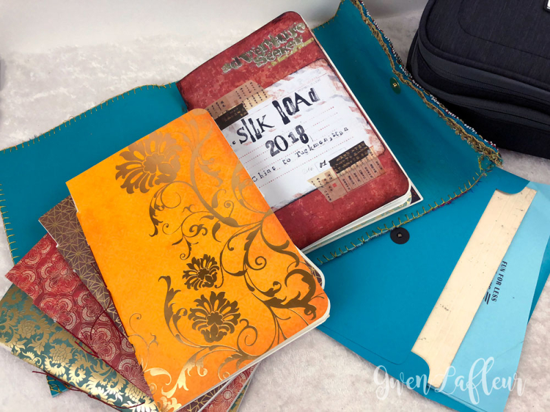 Silk-Road-Travel-Journal-Kit---Journal-inserts---Gwen-Lafleur
