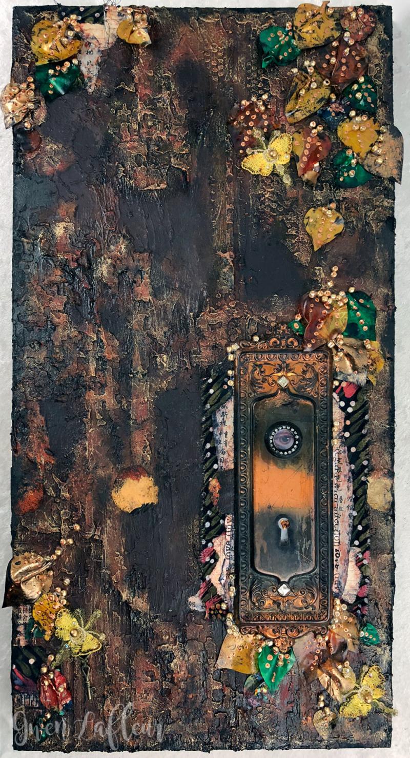 The-Dryad's-Tree---Mixed-Media-Artwork---Gwen-Lafleur